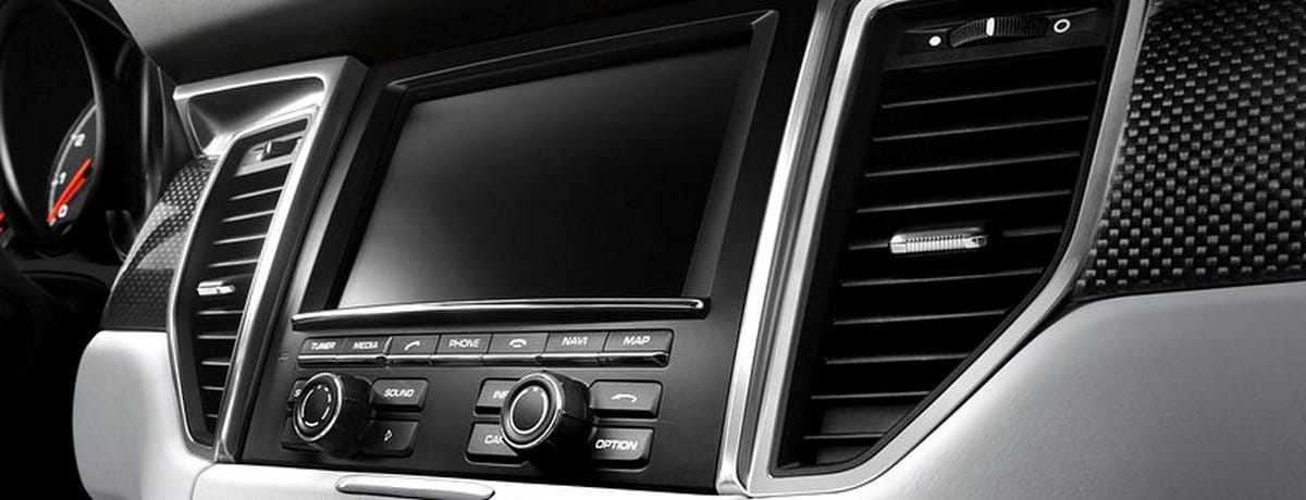 Système navigation GPS Porsche