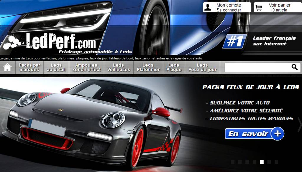 PArtenaire LED Porsche